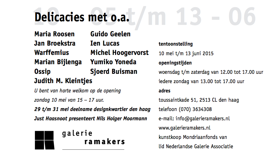 GALERIE RAMAKERS